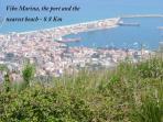 Vibo Marina 8.8 Km - The nearest harbour and beach - La spiaggia ed il porto più vicini