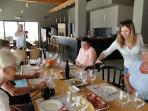 Wine tasting at Rizman Winery
