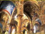 La Martorana, Mosaici. UNESCO 39th session of the Committee 2015 Arab-Norman Route.