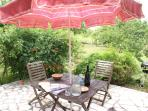 Sit on your private patio - enjoy a drink, BBQ provided