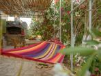 Hammock where you can enjoy relaxing or reading a book