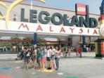 Customers from Jakarta shared photo taken at Legoland, Nusajaya