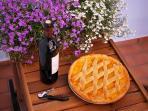 Crostata Vegan con marmellata di albicocche fatta in casa