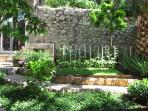 Charming private garden with organic products for your needs
