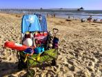 Surf Passage wagon packed with all the beach gear you need to enjoy a day at the beach