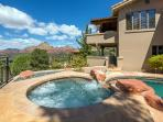 Pool & Spa-Heated-Private-Scenic Red Rock Views
