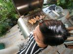 BBQ in action!