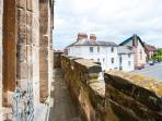 View of Castle Street from Battlements