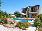 Large two bedroom villa with lovely gardens and private pool