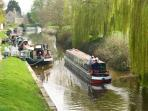The Kennet & Avon Canal, 2 minutes away from Wee Grange