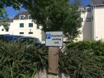 On site parking for apartment guests - no need to pay for public car parks or search for places!