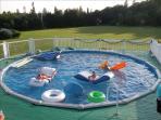Beautiful salt water pool!