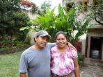beautiful Mayan couple who help us