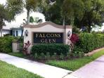 Entrance to Falcons Glen from Lely Resort Boulevard