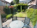 Private fully enclosed rear garden