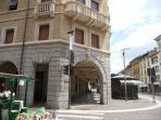 ingresso appartamento al Centro storico