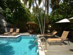On-site pool, perfect for relaxing and enjoying the sunshine