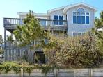 Fantastic views from inside and outside of house! Just 1 lot from the ocean