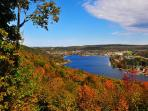 Fall View of Deep Creek Lake