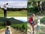 Golf - vélo - randonnée