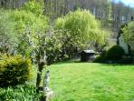 Laze in the garden