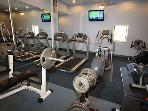 Well equipped exercise room!!