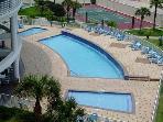 Huge pool, Huge jacuzzi and Huge Children's wading pool!
