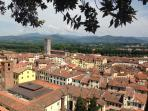 view on the town from the Guinigi's tower
