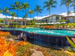 Beach Front Adult Infinity-Edge Heated Swimming Pool set Directly on Wailea Beach - Private for guests of Wailea Beach...