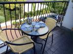 Fancy breakfast on the balcony?