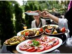 Excellent food is avalible, here meets mediterian, italian, austrian,french and balkan cooking