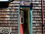 Cabin 1 Front Door