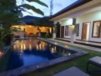 Own Private Pool. 10 minute walk to the Beach. Serviced Daily. Driver, Nanny and Butler available