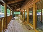 Shamrock Lodge #215- Outside Deck