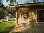 Talpona Riverview Apartments - Talpona beach, Goa - Front Balcony View