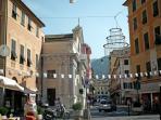 the sparkling village of Rapallo