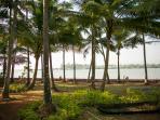 Talpona Riverview Apartments - Talpona beach, Goa - Talpona River