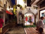Evening shopping in the amazing Marbella old town - 30 min away by car