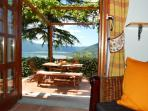 Holiday house rental with lake view in Italy  - Cedro