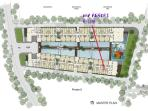 Layout of My Resort condo The room is on Building F, 1st floor, number 106