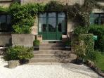 Entrance to guest reception