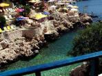 5 min.walk Ç?narlar, Derya Beaches in Küçük Çak?l (Small Pebbles)