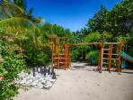 …and your kids will love our private PLAYGROUND right on the beach!