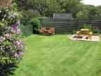 Secure fenced and private garden
