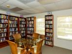 section of clubhouse library