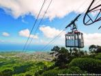 Nearby Town Puerto Plata with a Cable Car to a mountain