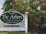 Welcome to the Arbors, featuring our 4 beach cottages: Yachtsman, Reef, Angler & Family Lodge