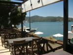 Terrace bar overlooking Fethiye harbour