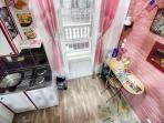 Lower floor - kitchen area