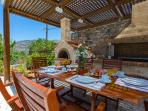 BBQ facilities and traditional stone oven!